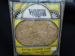 Extra Coarse Turf - yellow grass