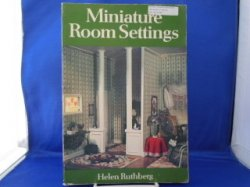 Soft cover book-Miniature Room Settings