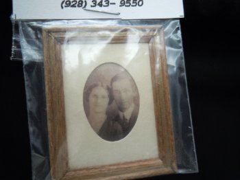 Framed Print - Man and Woman