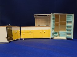 Plastic kitchen set by Tomy