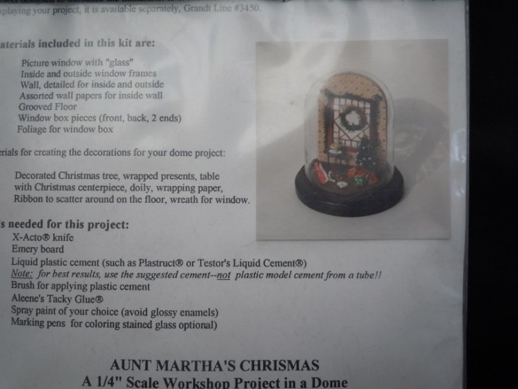 Grandtline - 1/4 scale Aunt Martha's Christmas Kit - Click Image to Close