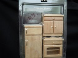 Kitchen Appliances - 3 oak pieces