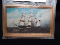 Framed Print - Sailing Ship
