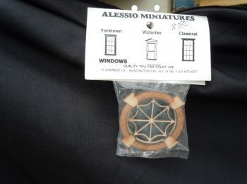 Window - Alessio Round with Web Mullion