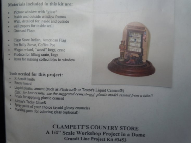 Grandtline - 1/4 scale Country Store Kit - Click Image to Close
