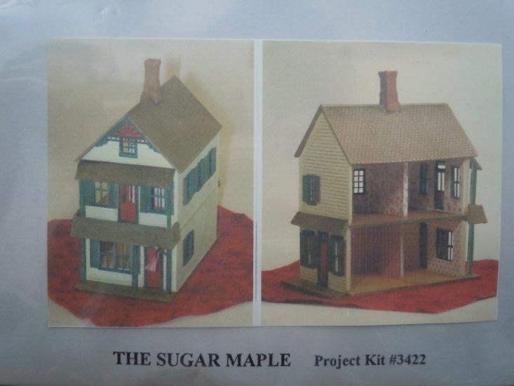 Grandtline - 1/144 scle doll house kit - Sugar Maple - Click Image to Close