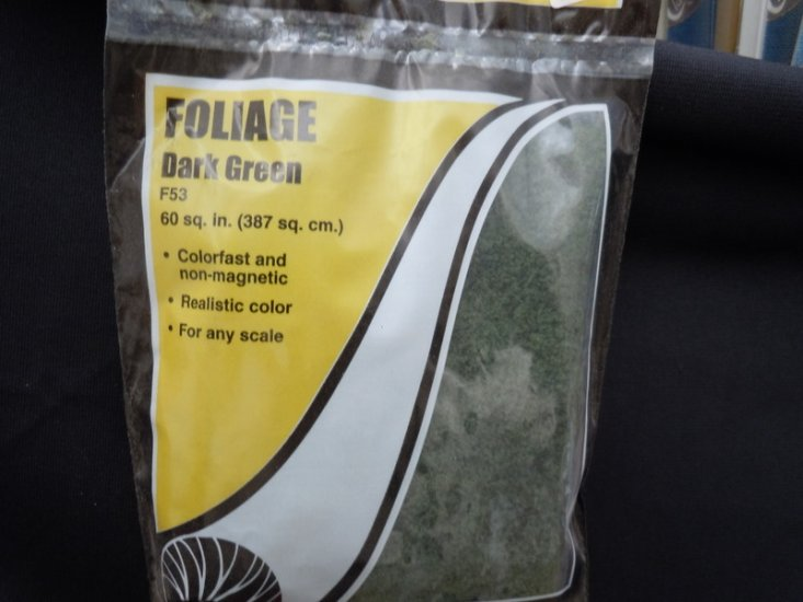 Foilage - Conifer Green - Click Image to Close