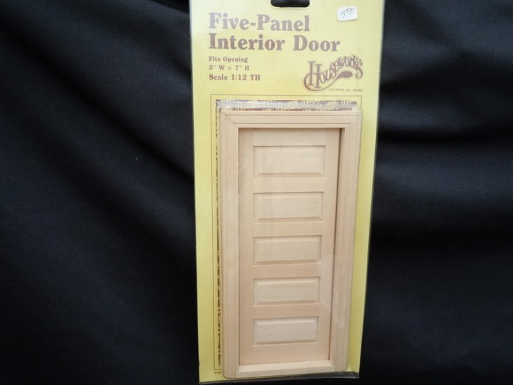 Door - 5 Panel Interior - Click Image to Close