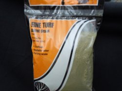 Fine turf - Burnt Grass