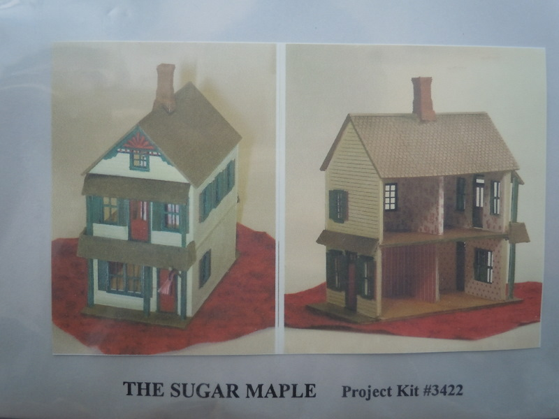 Grandtline - 1/144 scle doll house kit - Sugar Maple