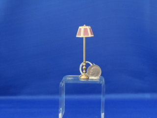 "Floor lamp - 1/2"" scale - Click Image to Close"