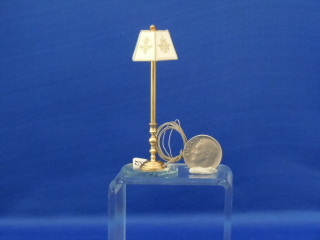 "Floor lamp - 1/2"" scale"