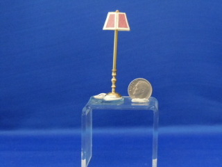 "Floor lamp - 1/2"" scale -NON Electric - Click Image to Close"