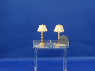 Table/dresser lamp - non electric pair - Click Image to Close