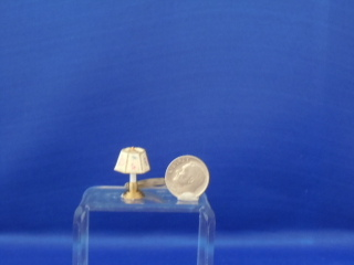 "Table/dresser lamp (pair) - 1/2""scale"