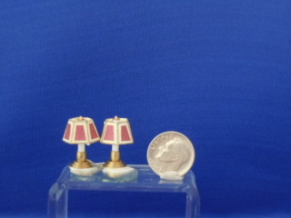 "Table/dresser lamp - 1/2"" non-electric pair"