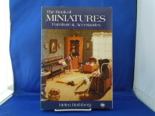 Soft cover book-The Book of Miniatures, Furniture & Accessories