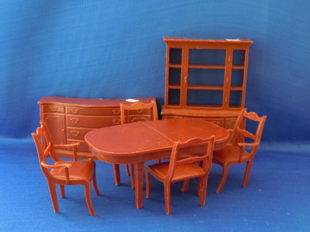 Buffet, china cabinet, table and chairs