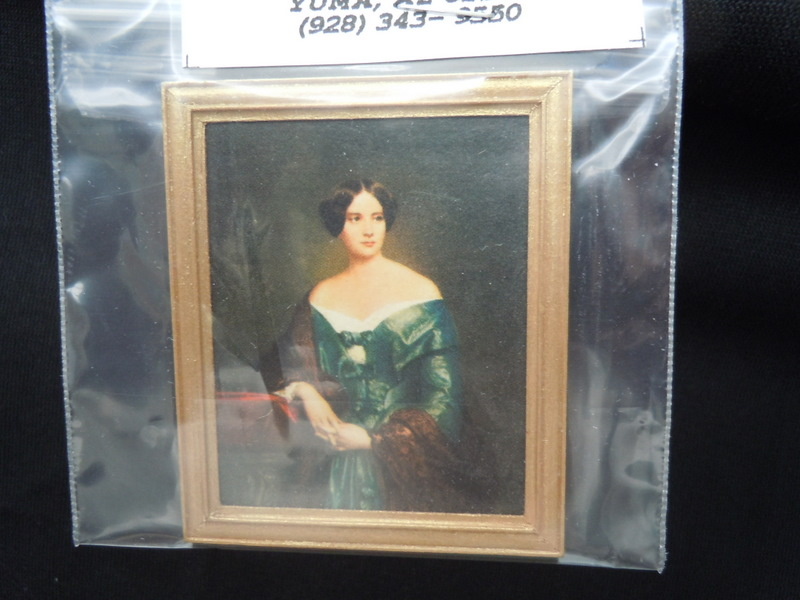 Framed Print - Lady in Blue Gown