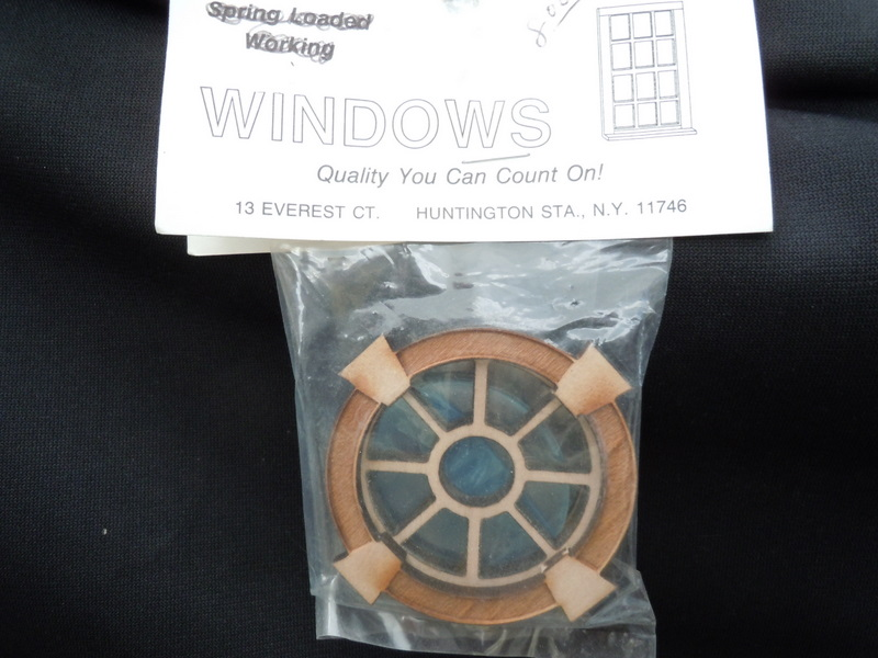 Window - Round Keystone