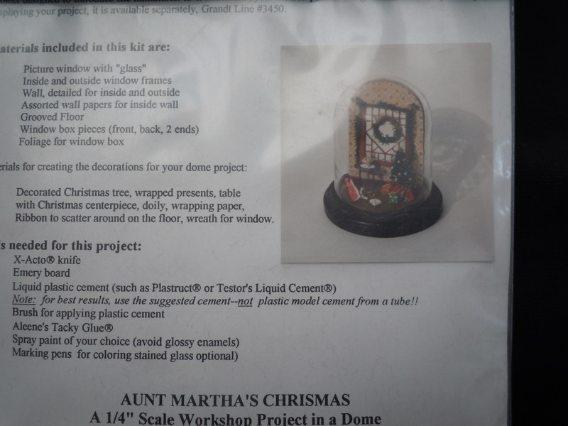 Grandtline - 1/4 scale Aunt Martha's Christmas Kit