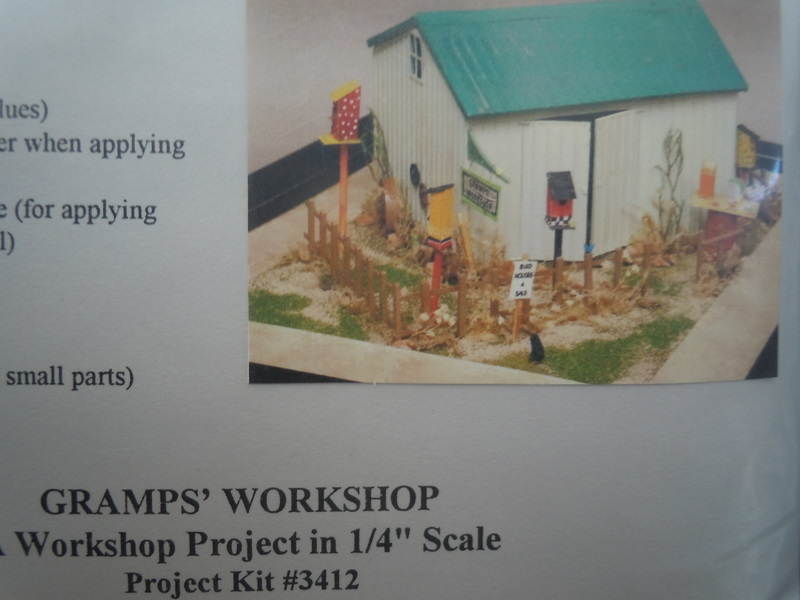 Grandtline -1/4 scale dollhouse kit - Gramp's Workshop - Click Image to Close