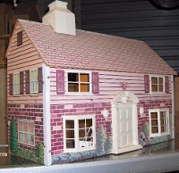 masonite collectible doll houses