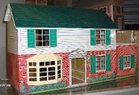 metal collectible doll houses