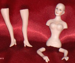 Porceline Doll Kit