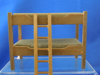 Bunk bed 1/2 scale - Click Image to Close